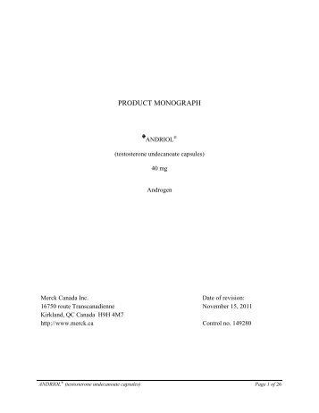 Product monograph template standard lundbeck product monograph pronofoot35fo Image collections