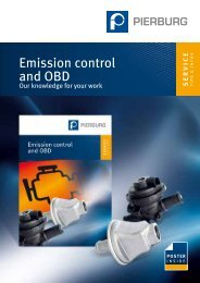 Emission control and OBD - MS Motor Service International GmbH