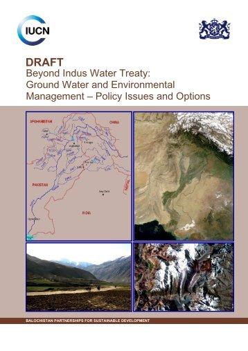 Beyond Indus Water Treaty - IUCN
