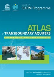Atlas of transboundary aquifers: global maps ... - unesdoc - Unesco