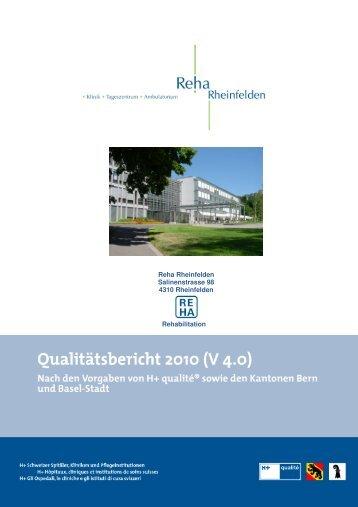 E Verbesserungsaktivitäten und -projekte - bei der Reha Rheinfelden