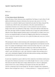 1 Appendix: Supporting Information Drake et al SI Text 1) Trans ...
