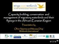 Presentation - Ramsar Convention on Wetlands