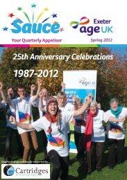 Age UK Exeter Sauce Magazine Spring 2012