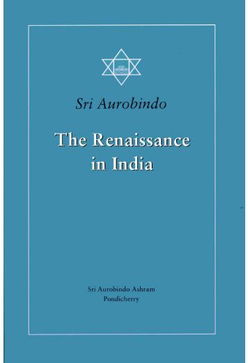 Volume 20. The Renaissance in India, with a