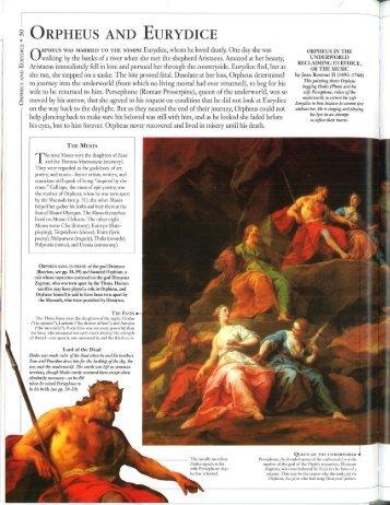 Orpheus and Eurydice.pdf - TCAPS Moodle