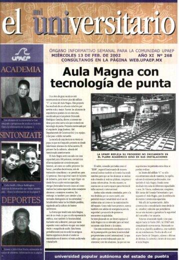 Aula Magna con tecnología de punta - Biblioteca - Universidad ...