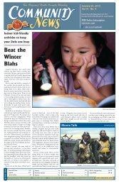 January 25, 2012 - Community News