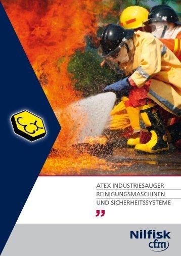 Nilfisk-CFM ATEX Industriesauger Reinigungsmaschinen und ...