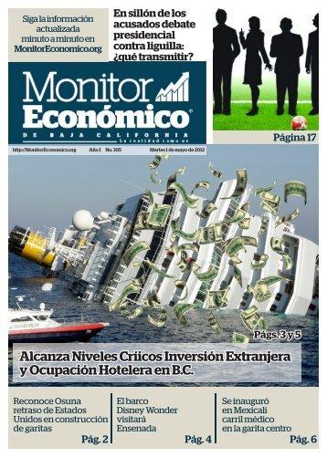 Alcanza Niveles Críicos Inversión Extranjera y Ocupación Hotelera ...