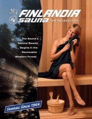 E-Brochure - Finlandia Sauna Products, Inc.