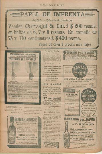 Agosto - Biblioteca Nacional de Colombia