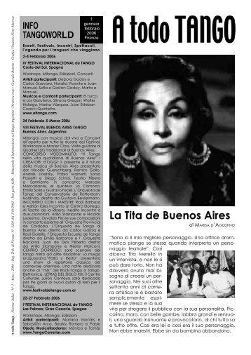 La Tita de Buenos Aires - Buenosairestango.it