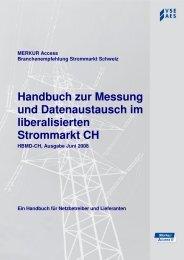 Handbuch zur Messung und Datenaustausch im liberalisierten - VSE