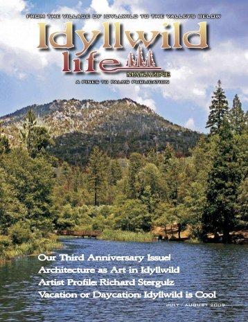 Our Third Anniversary Issue! - Idyllwild Life Magazine