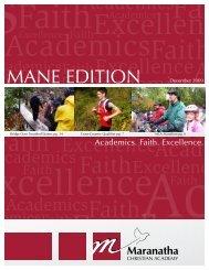 December 2009.pdf - Maranatha Christian Academy