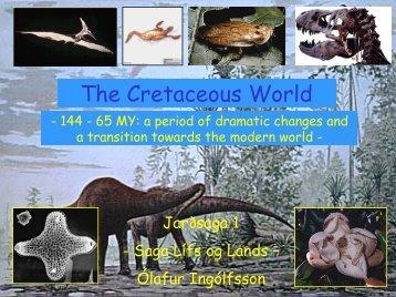 The Cretaceous World
