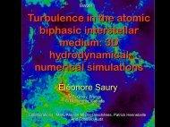 Turbulence in the atomic biphasic interstellar medium: 3D ...