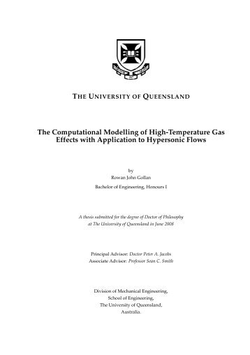 Rowan-Gollan-PhD-Thesis - Mechanical Engineering - University of ...
