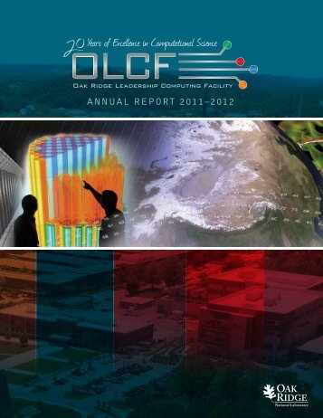 ANNUAL REPORT 2011–2012 - National Center for Computational ...