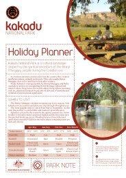 Kakadu National Park Holiday Planner