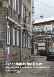 Exception is the Norm: - Design for London