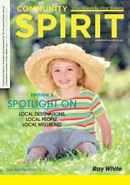 Read this issue here - Community Spirit
