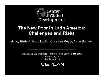 The New Poor in Latin America: Challenges and Risks
