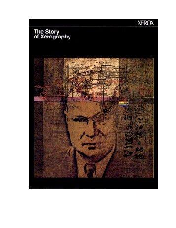 The Story of Xerography - Fuji Xerox