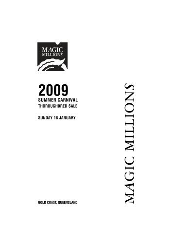 PDF Catalogue - Magic Millions