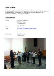 Musikschule - Reinach
