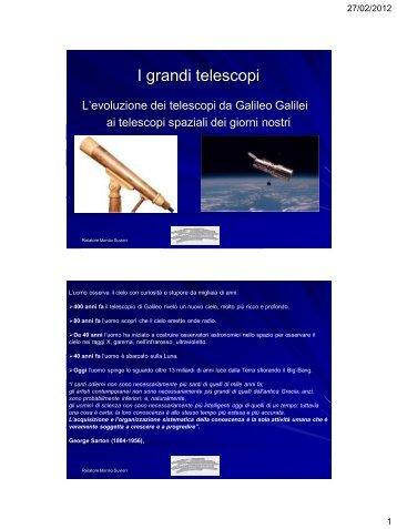 I Grandi Telescopi