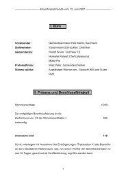 2. Rechnungen 2006 - Reinach