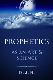 Prophetics As An Art and Science