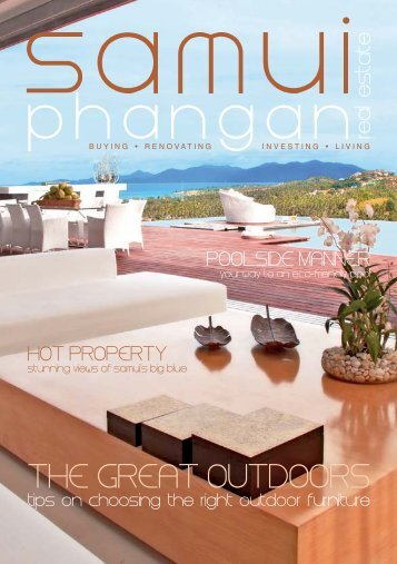 Samui Phangan Real Estate Magazine April-May