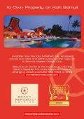 Samui Phangan Real Estate Magazine April-May 2013 - Page 3