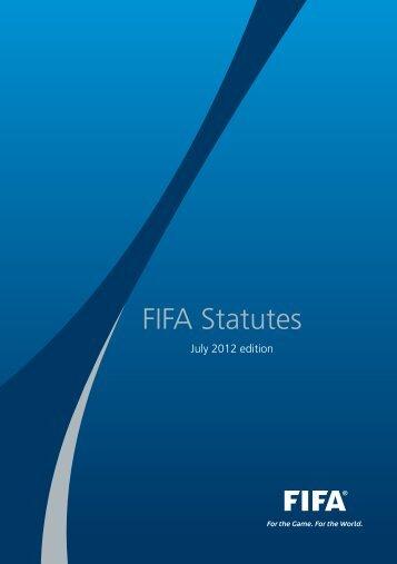 FIFA Statutes