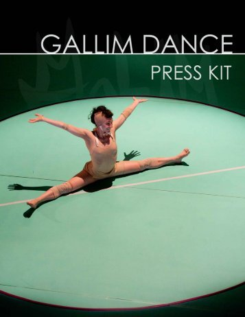 Press Kit - Gallim Dance