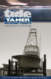 Download Tide Tamer Catalog - e-Marketing NC