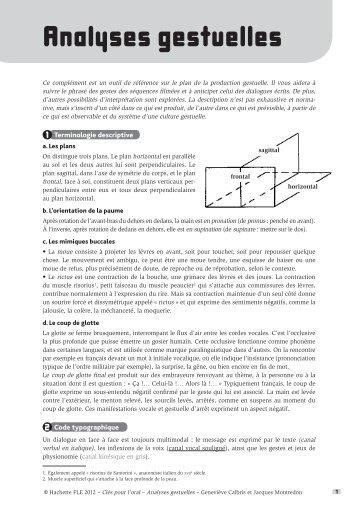 Cles pour l'oral-Fiches Partie 2.indd - Hachette