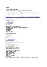 Sylwester 2012 w Tarnowie i regionie.pdf - Tarnów
