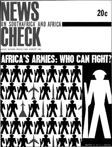 AFRICA'S ARMIES: WHO CAN HGHT?