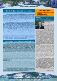 Black Carbon e-Bulletin, Volume 3, Issue 2 - Regional Resource ...