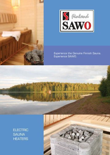 ELECTRIC SAUNA HEATERS - SAWO Finnish Sauna Manufacturer