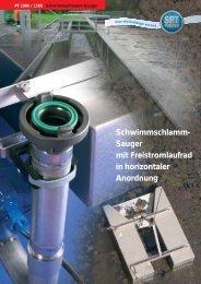 Schwimmschlamm- Sauger mit Freistromlaufrad in ... - SPT Pumpen