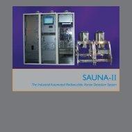 Download the SAUNA II brochure here. - SAUNA Systems