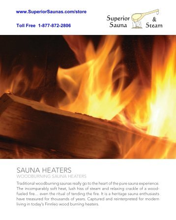 SAUNA HEATERS - Superior Sauna & Steam