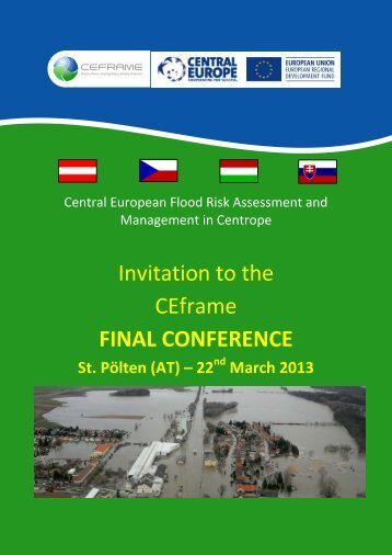 Invitation to the CEframe FINAL CONFERENCE