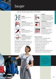 Sauger - WAP-ALTO KEW Reinigungssysteme