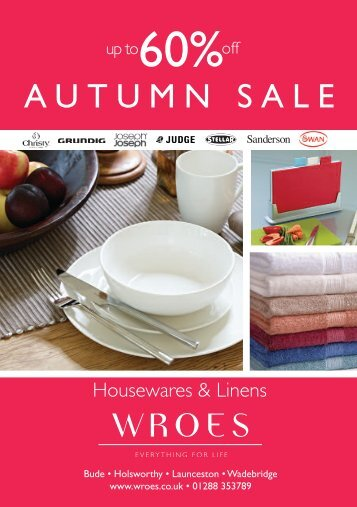 Autumn SALe - Wroes